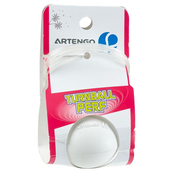 "Pelota de Speedball ""TURNBALL PERF BALL"" caucho Blanco"