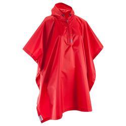 25L成人健行斗篷 Arpenaz - 紅色