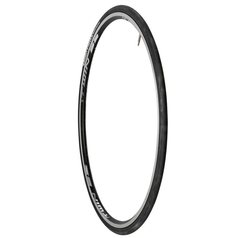 Pro3 Race 700x23 Flex Bead Road Bike Tyre / ETRTO 23-622 - Black