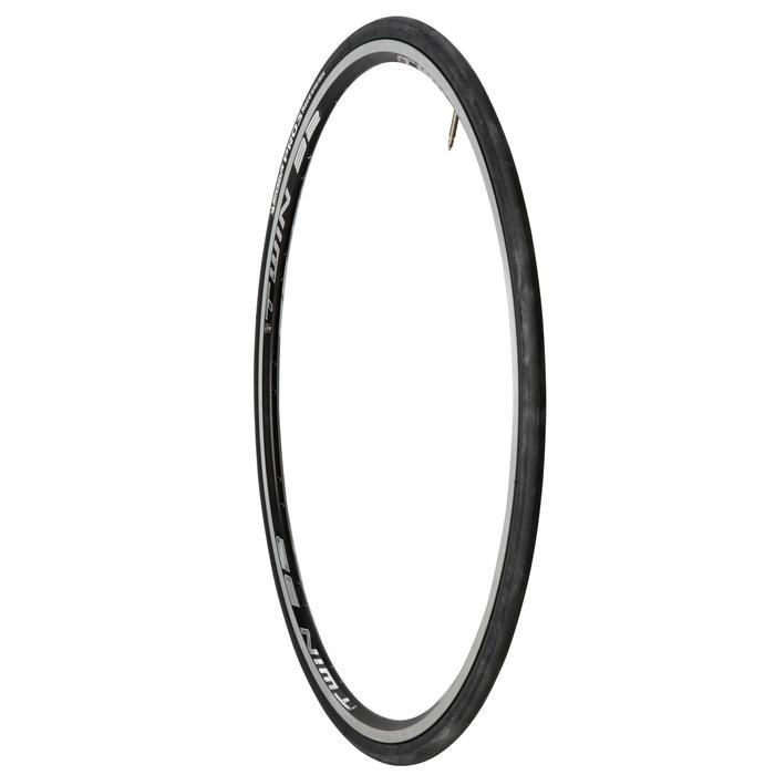 Buitenband racefiets Pro 3 700x23 zwart vouwband ETRTO 23-622