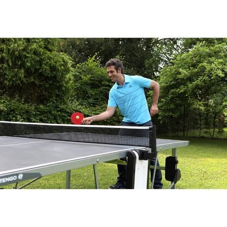Table ping pong outdoor ft855 tennis de table artengo for Ping pong exterieur