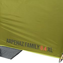 Tienda de Campaña ARPENAZ 8.4 | 8 Personas 4 Habitaciones