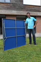Tafeltennistafel Outdoor FT720 blauw - 600474