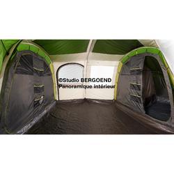 Tente à arceaux de camping - Arpenaz 8.4 - 8 Personnes - 4 Chambres