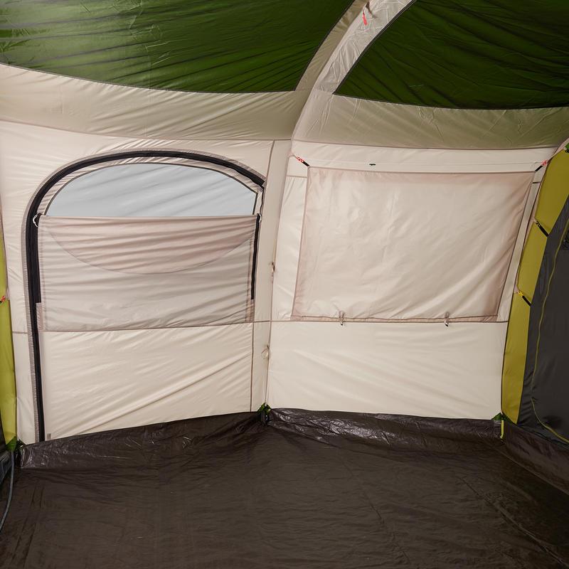 เต็นท์ทรงกรวยสำหรับการตั้งแคมป์ 4 ห้องนอนรุ่น Arpenaz 8.4 สำหรับ 8 คน