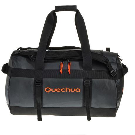 trekking transport bag 70 l black quechua