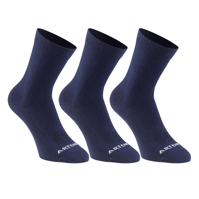RS750 High Sports Socks 160 Tri-Pack - Navy Blue