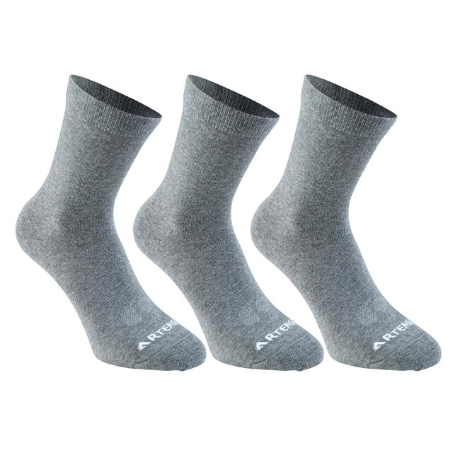 Socks Grey - Adult High Tri pack
