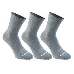 RS 160 Adult High Sports Socks Tri-Pack - Black