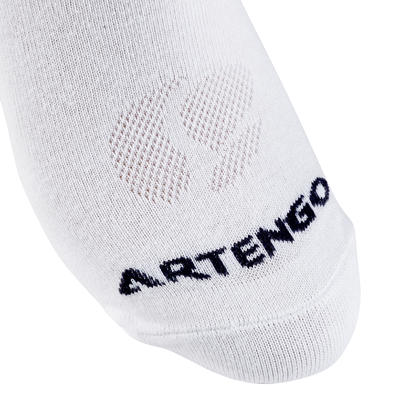 RS 160 Adult High Sports Socks Tri-Pack - White