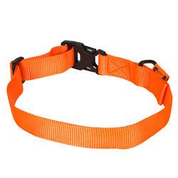 Collar Perro Caza Solognac 100 Ajustable Naranja