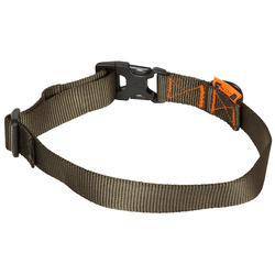 Dog collar 100 khaki