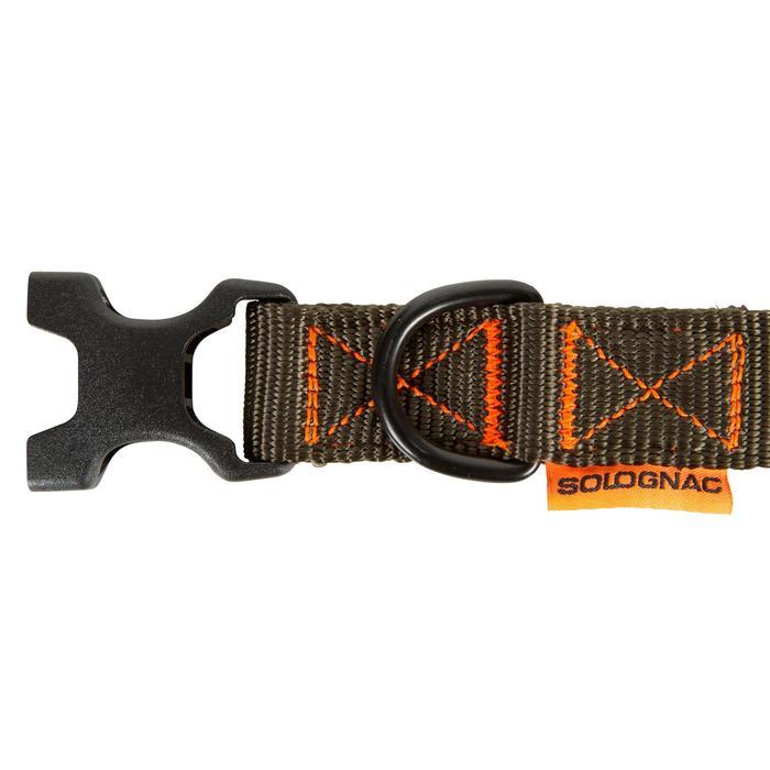 Collar Perro Caza Solognac 100 Ajustable Caqui