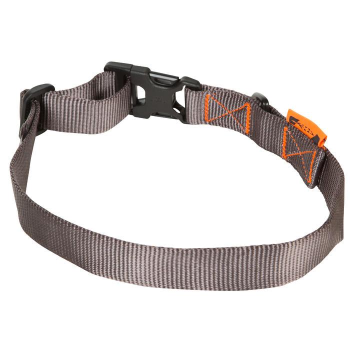 Hundehalsband 100 grau