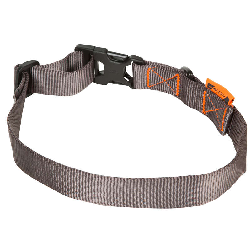 DOG ACCESSORIES Shooting and Hunting - Dog collar 100 grey SOLOGNAC - Working Dogs