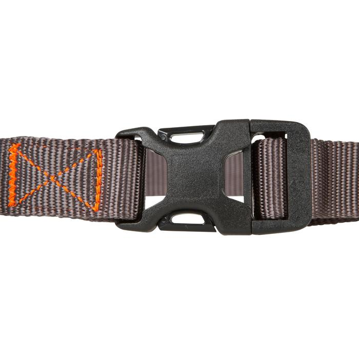 Collar Perro Caza Solognac 100 Ajustable Gris