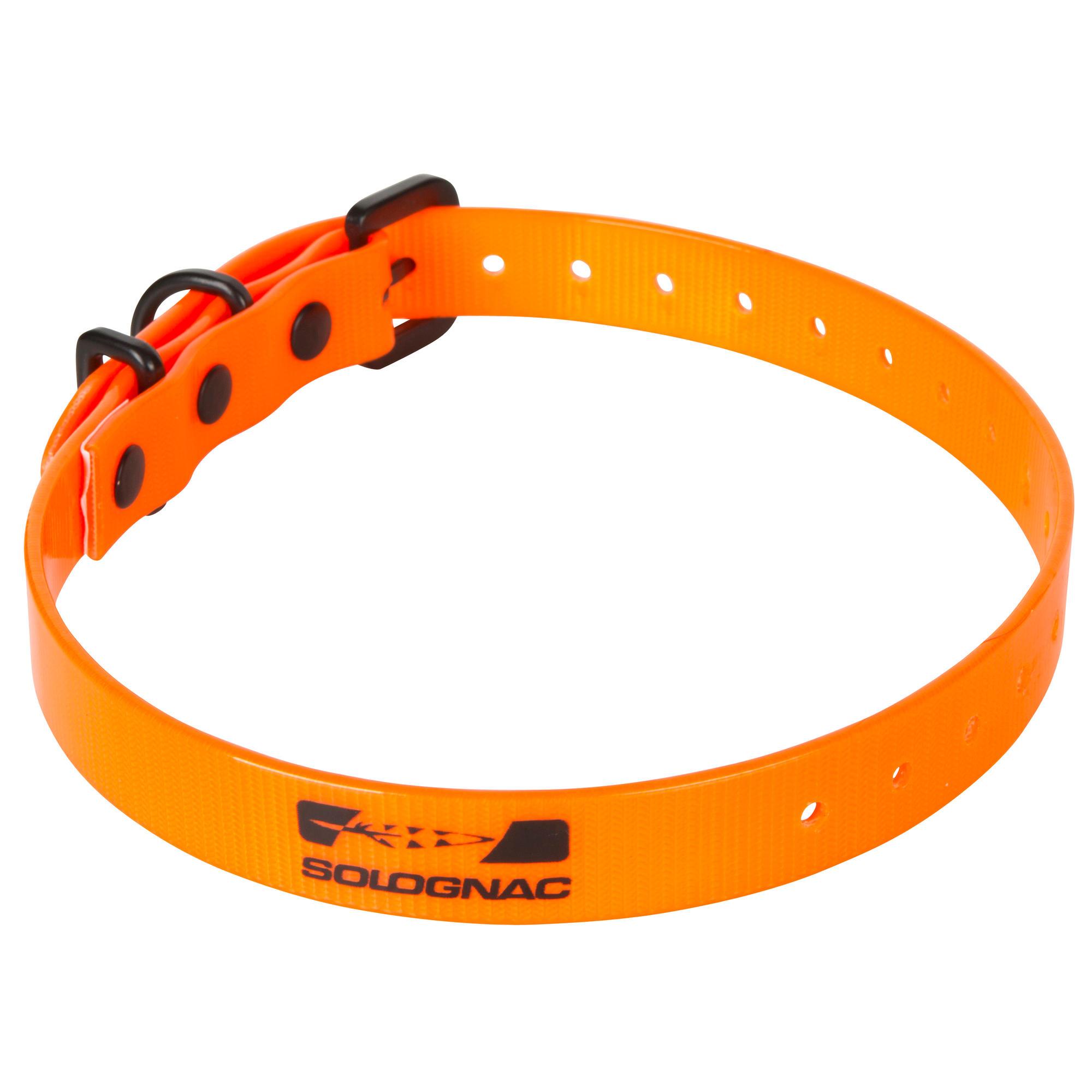 collier chien 300 orange solognac. Black Bedroom Furniture Sets. Home Design Ideas
