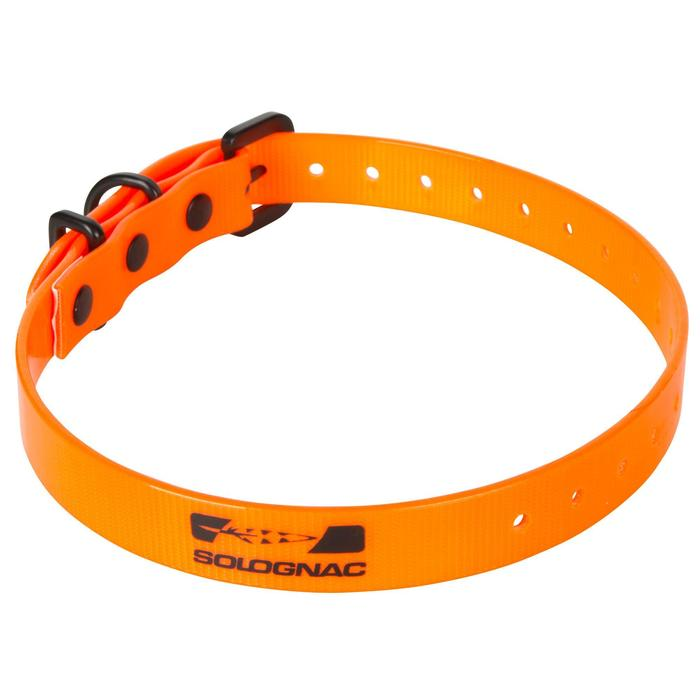 Hundehalsband 300 orange fluo