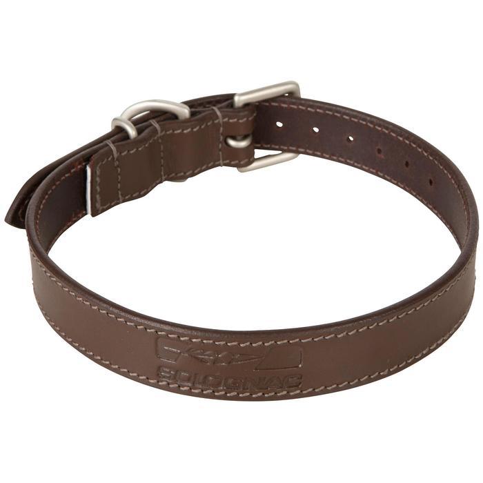 Collier chien 500 cuir - 602402