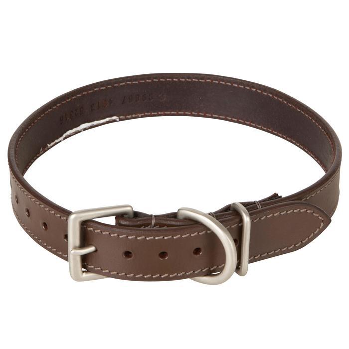 Collier chien 500 cuir - 602403