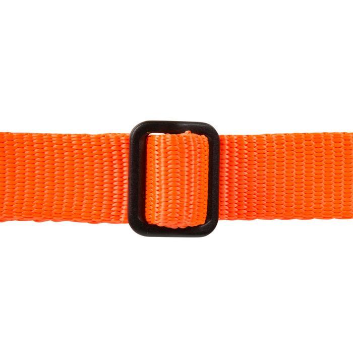 Correa perro 100 naranja