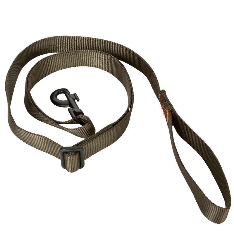 DOG ACCESSORIES Clothing  Accessories - Dog lead 100 Green SOLOGNAC - Clothing  Accessories