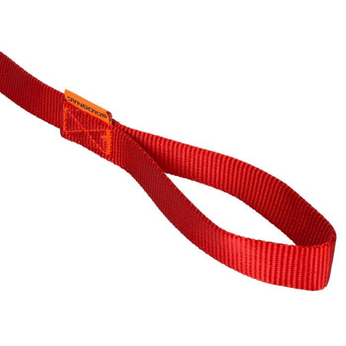 Correa perro 100 Rojo