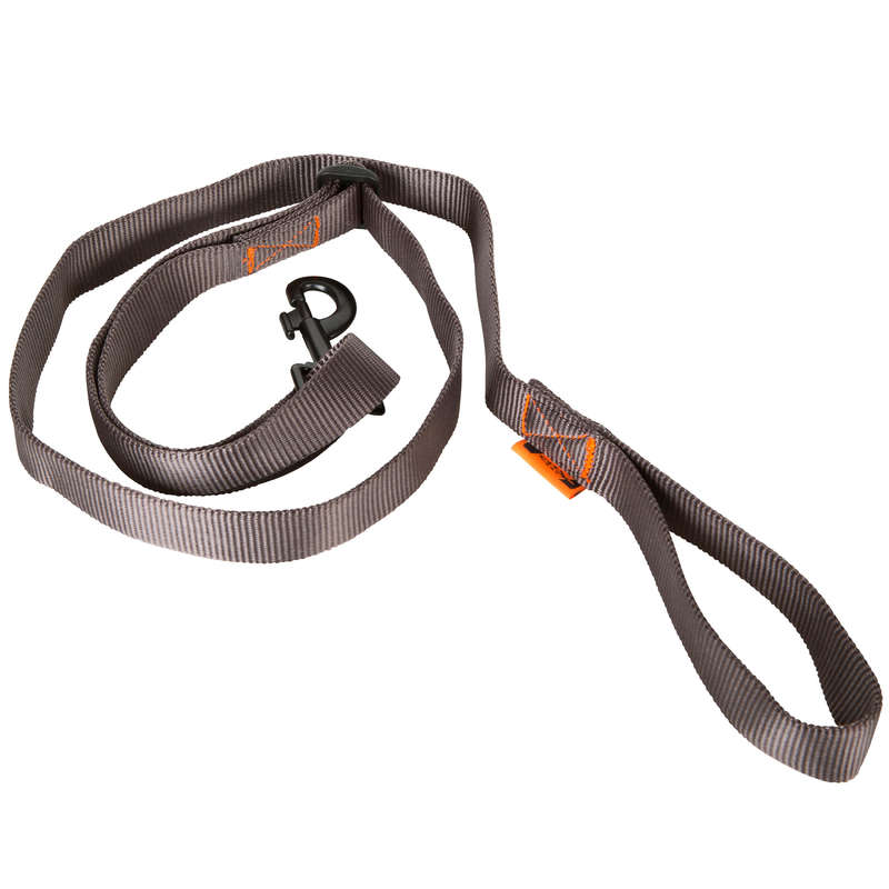 DOG ACCESSORIES Clothing  Accessories - 100 DOG LEAD - GREY SOLOGNAC - Clothing  Accessories