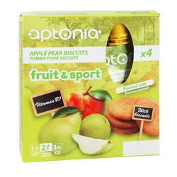 Vruchtenmoes Fruit&Sport banaan-appel 4x90 g - 602609