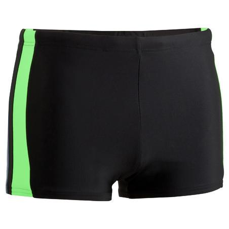 B-ACTIVE YOKE men's swim SHORTS - Black Green