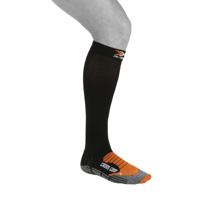 Calcetines ADULTO RUNNING de compresión XSOCKS CROSS COMP negros