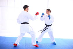Karatehandschoenen rood - 603529