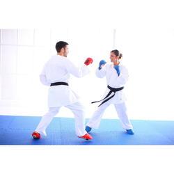 Karatehandschuhe Faust Karate rot