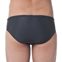 男款三角泳褲100 - 基礎灰
