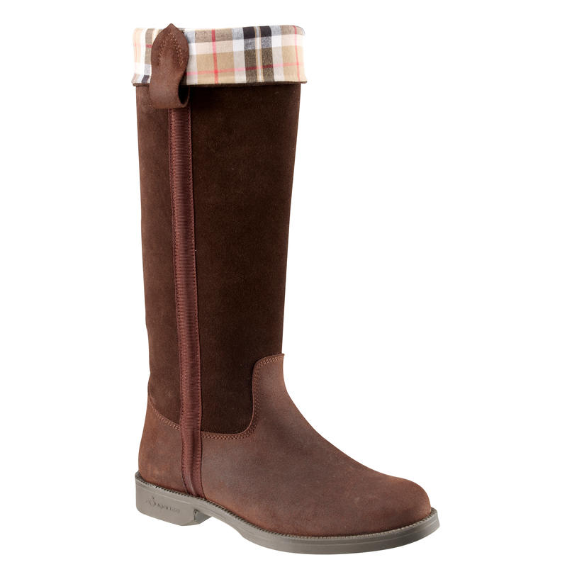 CAVALIERE women's horse riding boots - brown