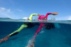 Dames zwempak OWSwim in neopreen van 1/0 mm voor gematigd warm open water - 607178