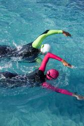 Dames zwempak OWSwim in neopreen van 1/0 mm voor gematigd warm open water - 607184