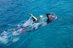 Dames zwempak OWSwim in neopreen van 1/0 mm voor gematigd warm open water - 607186