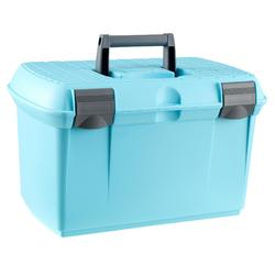 GB500 Horse Riding Grooming Case - Turquoise/Grey
