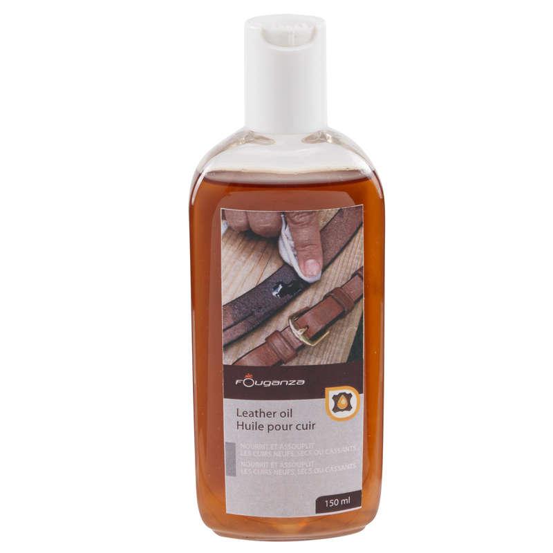 HORSE EQUIPMENT MAINTENANCE - Leather Oil 150ml FOUGANZA