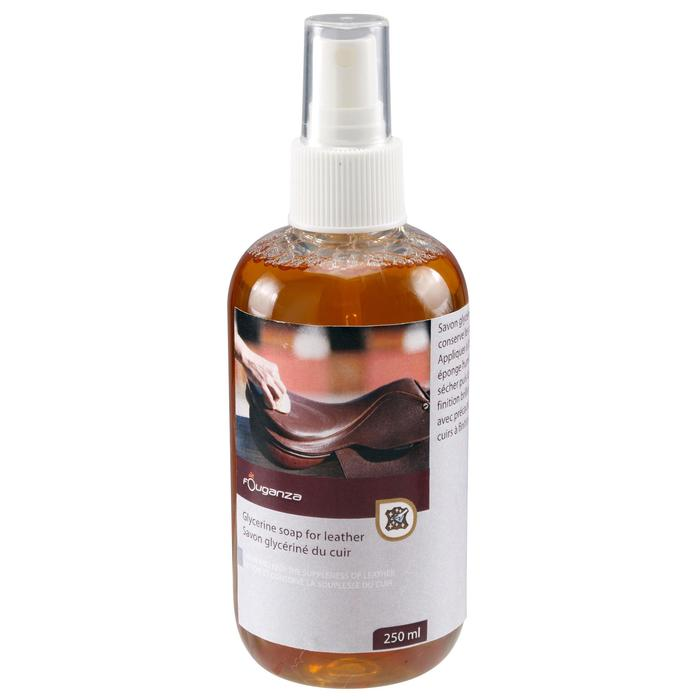 Savon glycériné en spray pour cuir équitation - 250ML