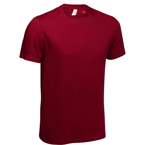 Fitness T-shirt Athletee Essentiel voor heren, katoen - 60734