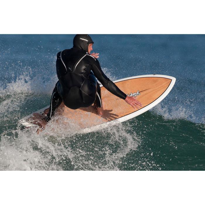 Top de Neopreno Surf Olaian Adulto 1 mm Capucha 2 mm Invierno Negro