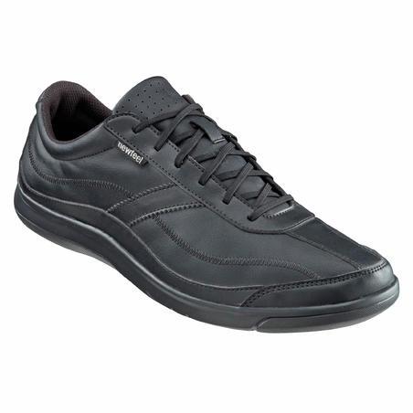 Miago men's everyday walking shoes - black