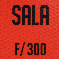 bdb313fbc7547 Ballon futsall 300 taille 58cm rouge