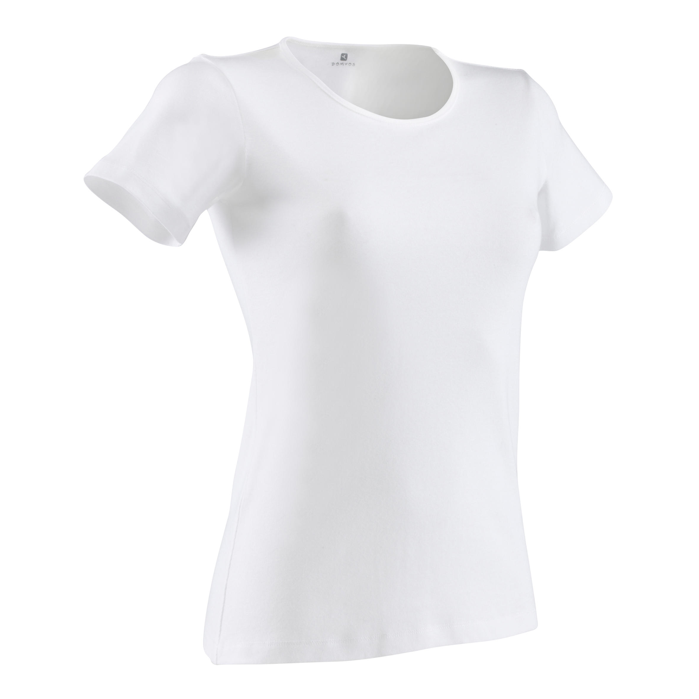 100 Sportee Women's Stretching T-Shirt - White