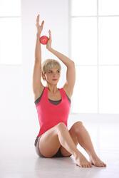 Verzwaarde fitness bal 450 g - 612357