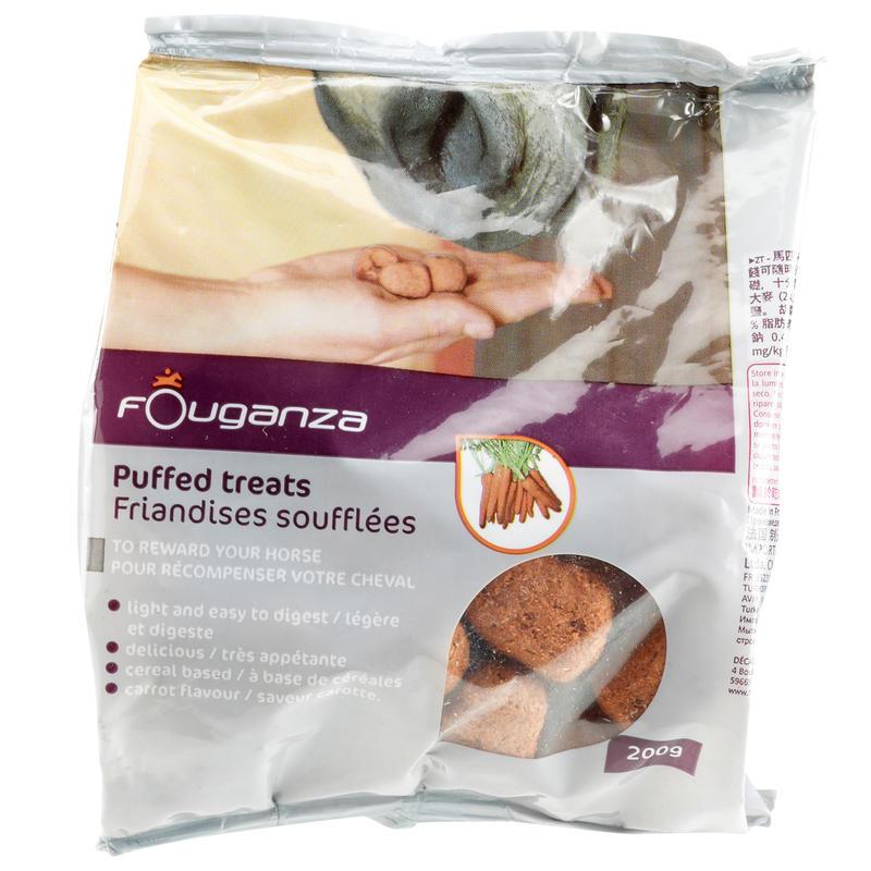Friandises pour chevaux et poneys FOUGASNACK carotte - 200g