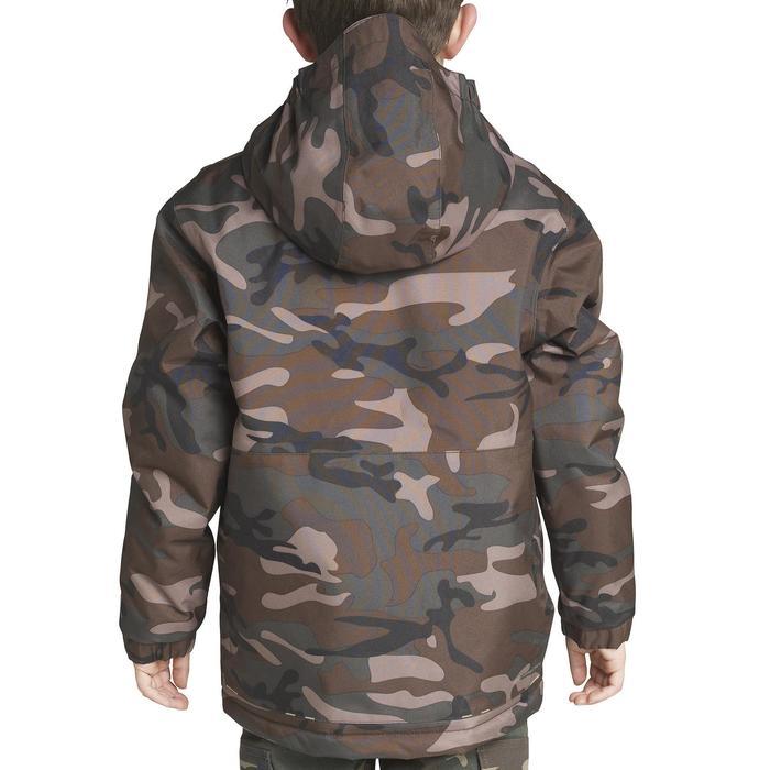Veste chasse 100 junior camouflage vert - 613117