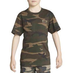 Kinder T-shirt Steppe 100 camouflage Island - 613126